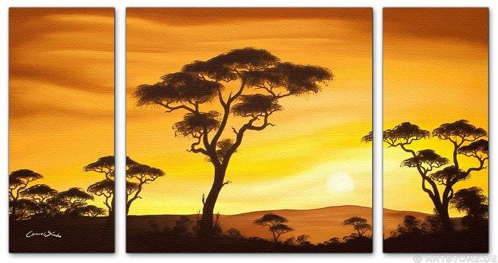 Wandbild Chanel Simon AFRICAN SUN - EDITION