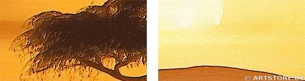 Wandbild Chanel Simon AFRICAN SUN - EDITION Detailausschnitt