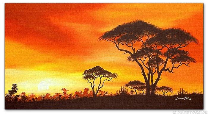 Wandbild Chanel Simon AFRICAN DAY DREAM
