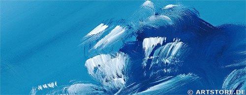 Wandbild Chanel Simon SUNSET SAILING Detailausschnitt