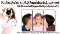 Wandbilder Fotodruck DEIN BILD AUF LEINWAND