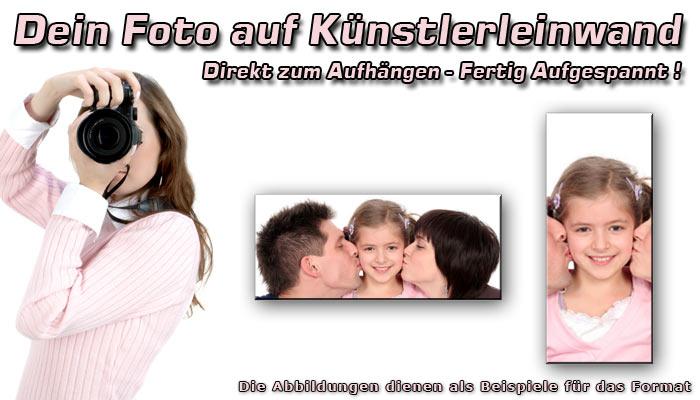 Wandbild  DEIN BILD AUF LEINWAND
