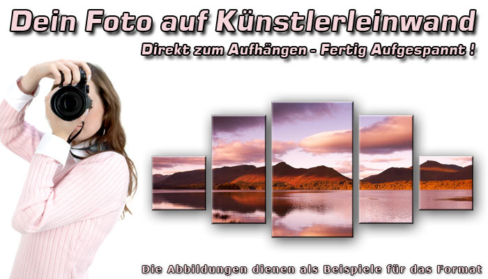 wandbilder fotodruck dein bild auf leinwand. Black Bedroom Furniture Sets. Home Design Ideas