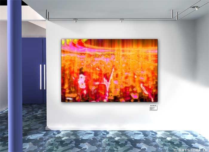Wandbild Jack Dyrell INDEPENDENCE Wohnbeispiel