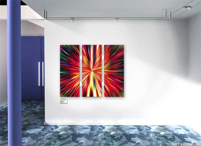 Wandbild Jack Dyrell WARP 3 Wohnbeispiel