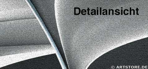 Wandbild Jack Dyrell NEVER ENDING B&W Detailausschnitt