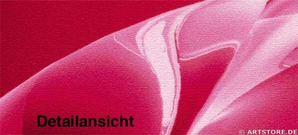 Wandbild Jack Dyrell NEVER ENDING RED Detailausschnitt