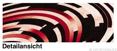 Wandbild Jack Dyrell RAUM UND ZEIT Detailausschnitt