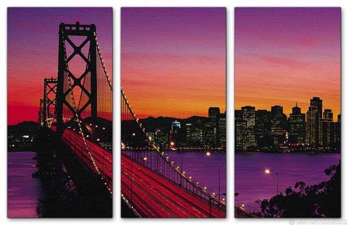 Wandbild Jack Dyrell SAN FRANCISCO