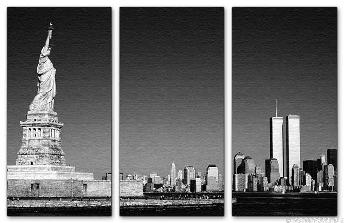 Wandbild Jack Dyrell OLD NY SKYLINE - USA