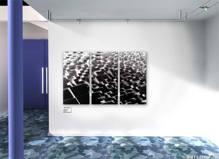 Wandbild Jack Dyrell UPS AND DOWNS Wohnbeispiel