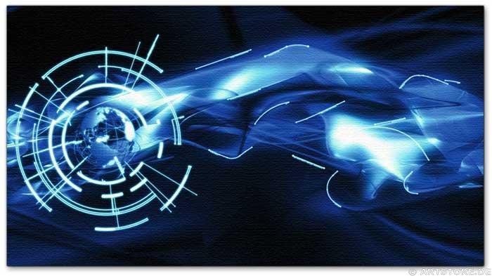 Wandbild Jack Dyrell ENERGY STREAM