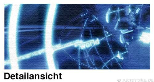 Wandbild Jack Dyrell ENERGY STREAM Detailausschnitt