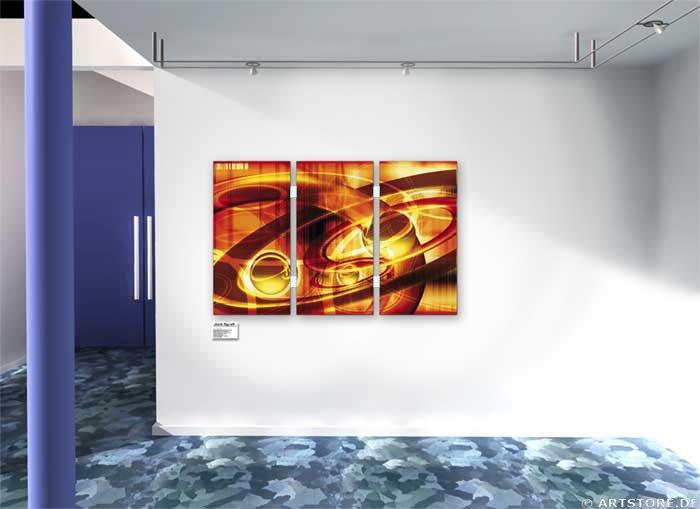 Wandbild Jack Dyrell UNIVERSE RETRO Wohnbeispiel