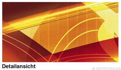 Wandbild Jack Dyrell UNIVERSE RETRO Detailausschnitt