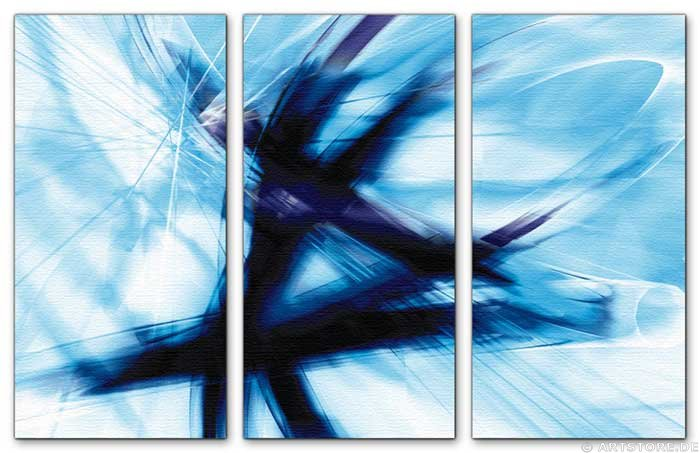 Wandbild Jack Dyrell BLUE SIGNS