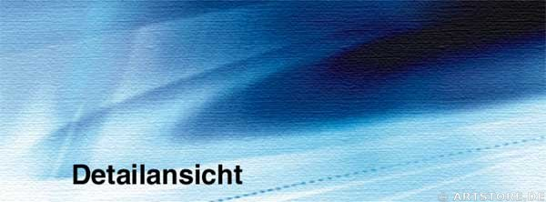 Wandbild Jack Dyrell BLUE SIGNS Detailausschnitt