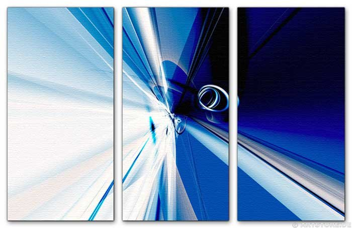 Wandbild Jack Dyrell CENTER OF BLUE