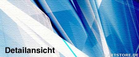 Wandbild Jack Dyrell CENTER OF BLUE Detailausschnitt