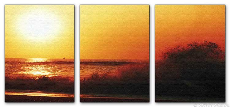 Wandbild Jack Dyrell ROMANTIC SUNSET