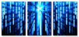 Wandbild Jack Dyrell MATRIX BLUE
