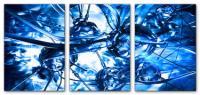 Wandbilder Jack Dyrell PSION BLUE