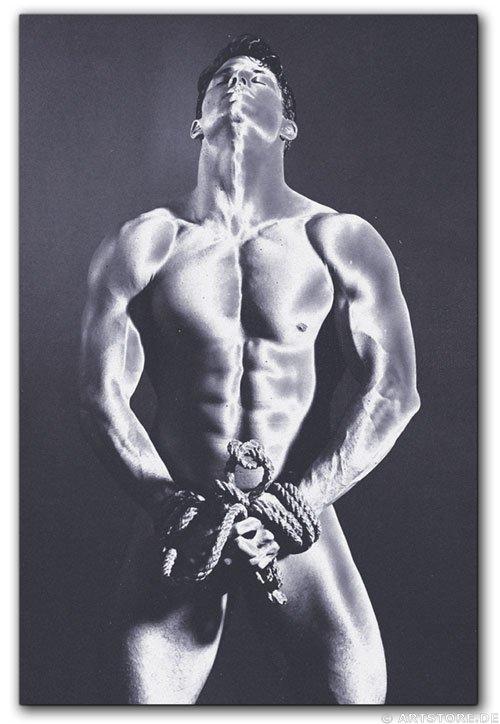 Wandbild Jack Dyrell STRONG MAN - AKT