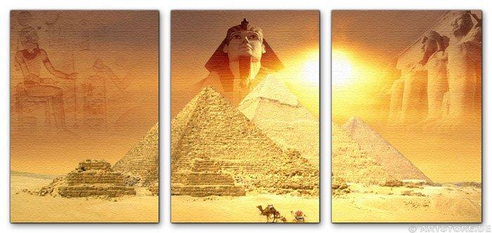 Wandbild Jack Dyrell MYTHOS ÄGYPTEN EDITION