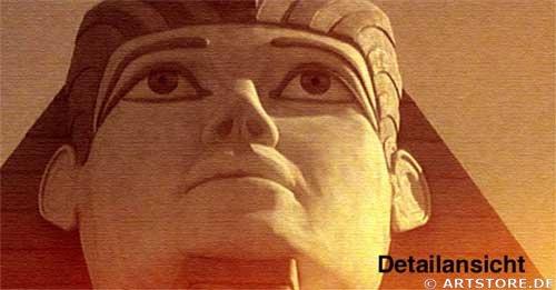 Wandbild Jack Dyrell MYTHOS ÄGYPTEN EDITION Detailausschnitt