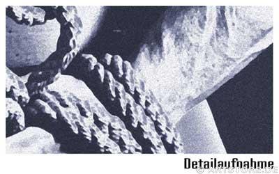 Wandbild Jack Dyrell STRONG MAN - AKT Detailausschnitt