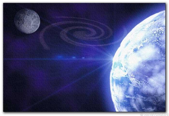 Wandbild Jack Dyrell BLUE PLANET No.1