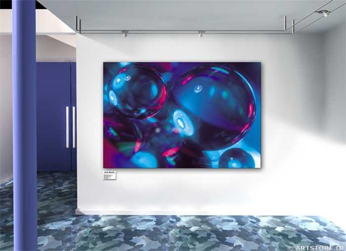 Wandbild Jack Dyrell REFLECTIONS Wohnbeispiel