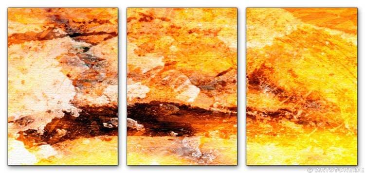 Wandbild Jack Dyrell YELLOW POWER