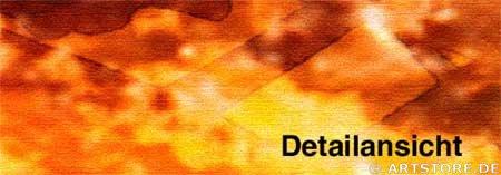 Wandbild Jack Dyrell YELLOW POWER Detailausschnitt