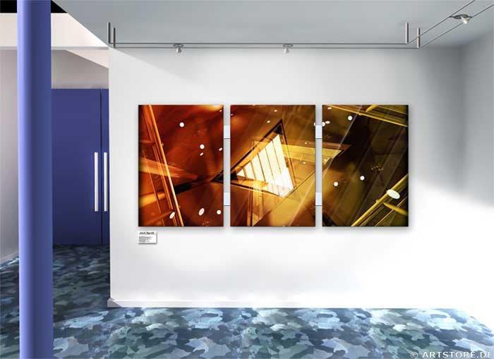 Wandbild Jack Dyrell MODERN ARCHITECTURE Wohnbeispiel