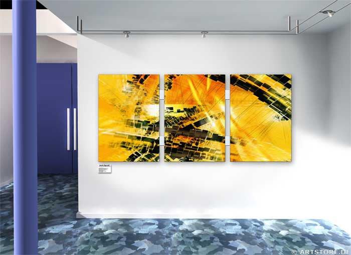Wandbild Jack Dyrell VISIONS Wohnbeispiel