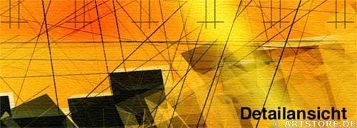 Wandbild Jack Dyrell VISIONS Detailausschnitt