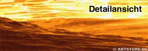 Wandbild Jack Dyrell BIG GOLDEN WAVE Detailausschnitt