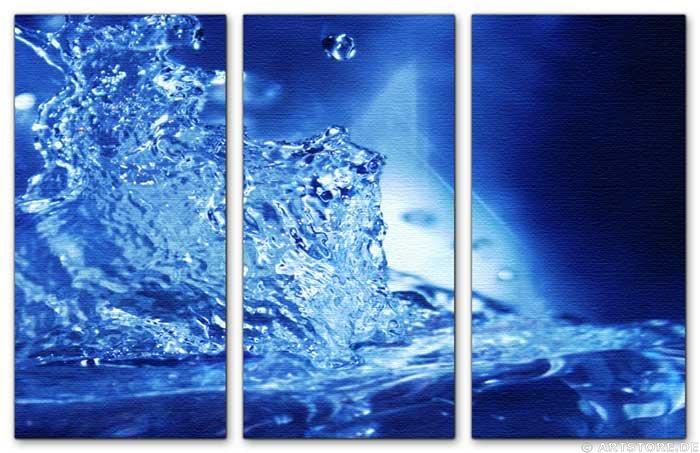 Wandbild Jack Dyrell BLUE SPLASH
