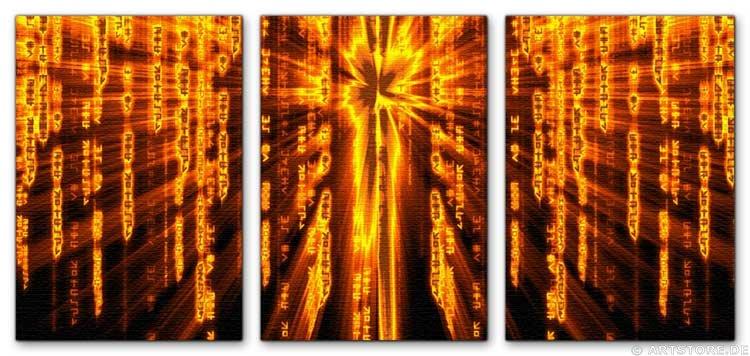 Wandbild Jack Dyrell ENERGY MATRIX