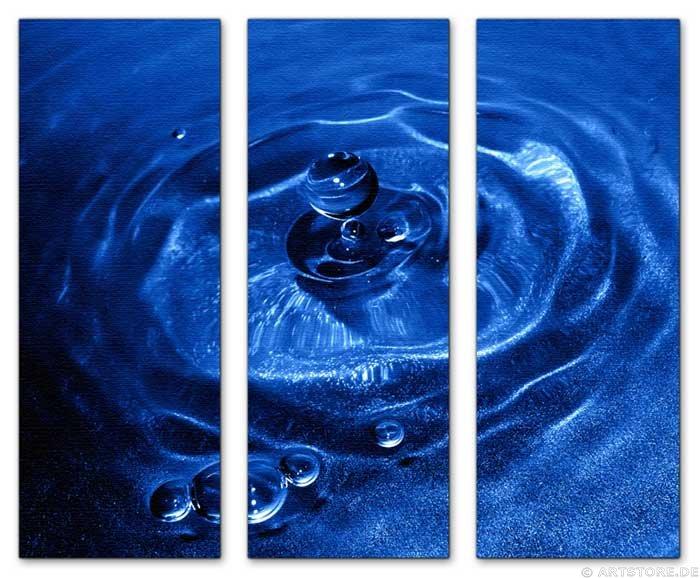 Wandbild Jack Dyrell BLUE DROP