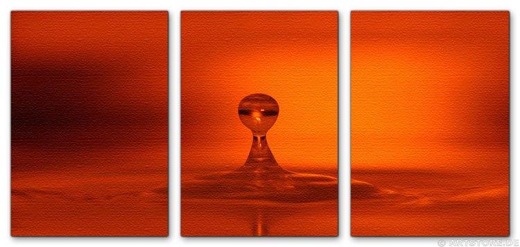 Wandbild Jack Dyrell RED DROP