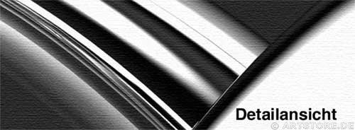 Wandbild Jack Dyrell NEVER ENDING CHROM Detailausschnitt