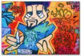 Wandbild Jack Dyrell GRAFFITY II