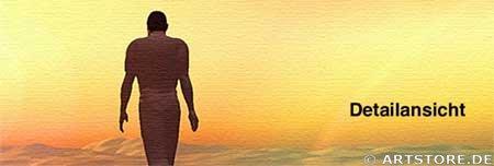 Wandbild Jack Dyrell MY WAY Detailausschnitt
