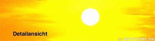 Wandbild Jack Dyrell GOLDEN SUNSET Detailausschnitt