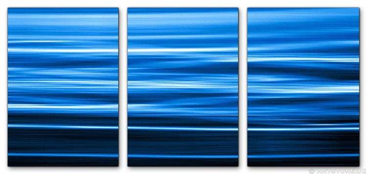 Wandbild Jack Dyrell FLOWING BLUE
