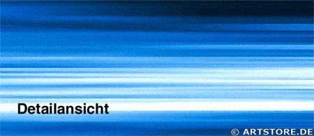 Wandbild Jack Dyrell FLOWING BLUE Detailausschnitt