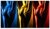 Wandbilder Jack Dyrell NAKED POWER - AKT