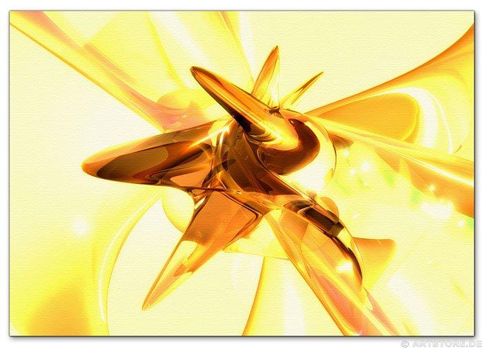 Wandbild Jack Dyrell GOLDEN HARMONY